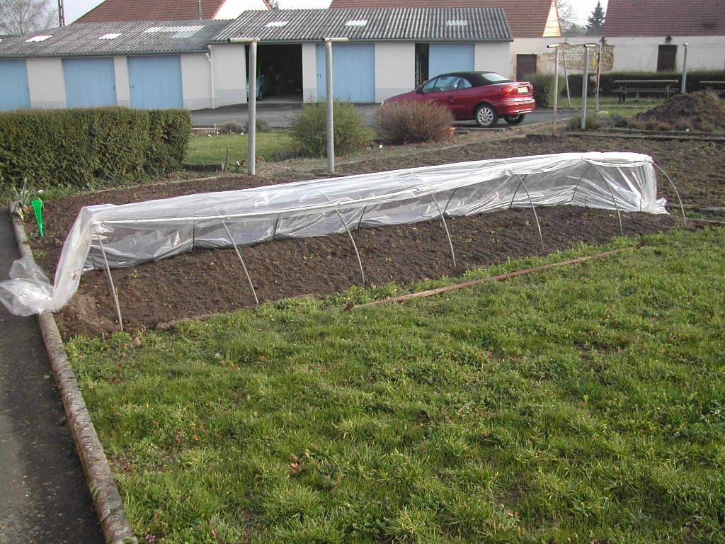 Tunnel de for age le jardin de noyen - Tunnel de forcage rigide pour jardin ...